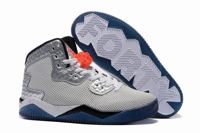 "Jordan Spike 40 ""knicks"" Shoes Gray/blue black"